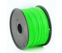 HIPS plastic filament for 3D printers, 1.75 mm diameter, green (3DP-HIPS1.75-01-G)