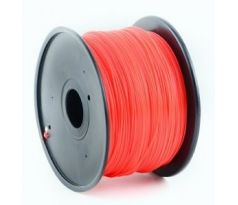 HIPS plastic filament for 3D printers, 1.75 mm diameter, red (3DP-HIPS1.75-01-R)