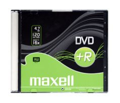 DVD+R MAXELL 4,7GB 16X Slim box 1ks (275636)