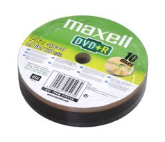 DVD+R MAXELL 4,7GB 16X 10ks/spindel (275734.30.TW)