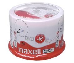 DVD-R MAXELL Printable 4,7GB 16X 50ks/cake (275701.40.TW)