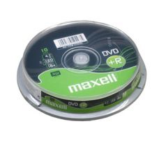 DVD+R MAXELL 4,7GB 16X 10ks/cake (275632)