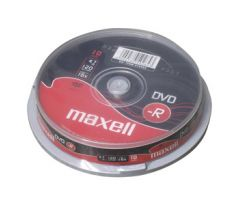 DVD-R MAXELL 4,7GB 16X 10ks/cake (275593)