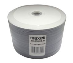 "DVD-R MAXELL Printable White ""BLANK"" 4,7GB 16X 50ks/spindel (276010.00.IN)"