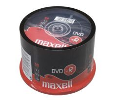 DVD-R MAXELL 4,7GB 16X 50ks/cake (275610.40.IN)