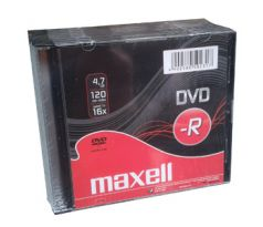DVD-R MAXELL 4,7GB 16X Slim (10ks) (275592.40.TW)