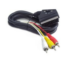 Bidirectional RCA to SCART audio-video cable, 1.8 m (CCV-519-001)
