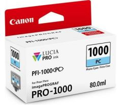 kazeta CANON PFI-1000PC Photo Cyan iPF PRO-1000 (0550C001)