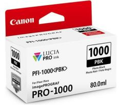 kazeta CANON PFI-1000PBK Photo Black iPF PRO-1000 (0546C001)